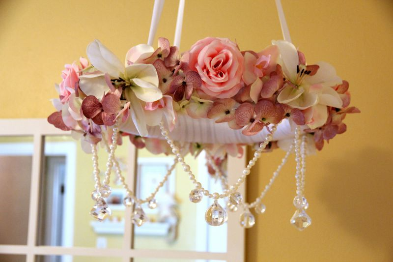 Floral Cot Canopy