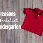5 Reasons to Redshirt Kindergarten