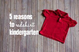 Redshirt Kindergarten - Featured