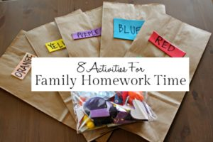 Family Homework Time - Featured