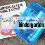 Sending Your Firstborn to Kindergarten