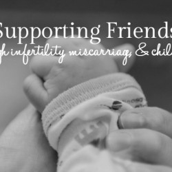 Supporting through Infertility & Loss - Featured