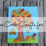 Wine Cork Crafts for Fall