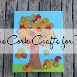 Fall Wine Cork Crafts
