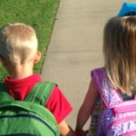 To the Mom at Preschool Drop Off {…weeks after the first day of school}