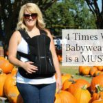 4 Times When Babywearing is a MUST