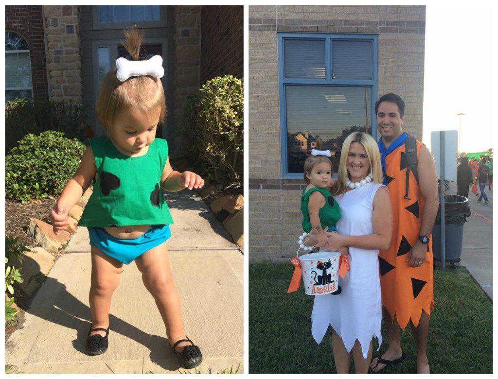 DIYcostumeflinstonefam  sc 1 st  Houston Moms Blog - City Moms Blog Network & DIY Kidsu0027 Halloween Costumes | Houston Moms Blog