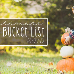 Fall Bucket List 2015 - Featured