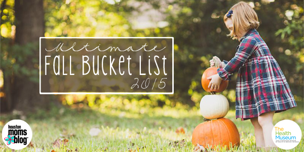Fall Bucket List 2015 - Featured