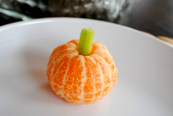 Halloween Lunch - Pumpkin Orange