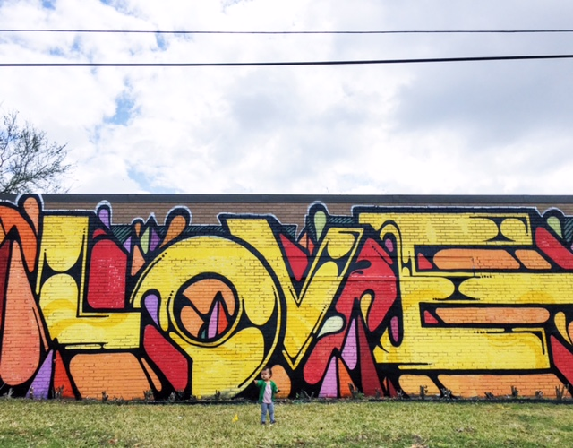 Graffiti Murals In Houston
