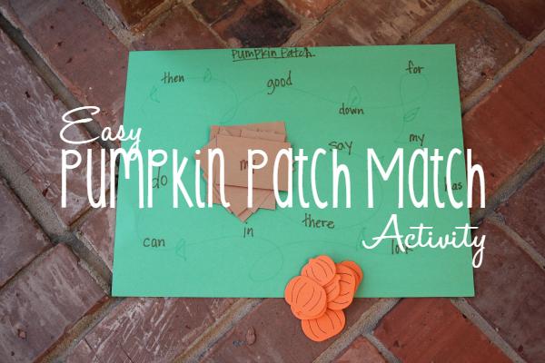 Pumpkin Patch Match