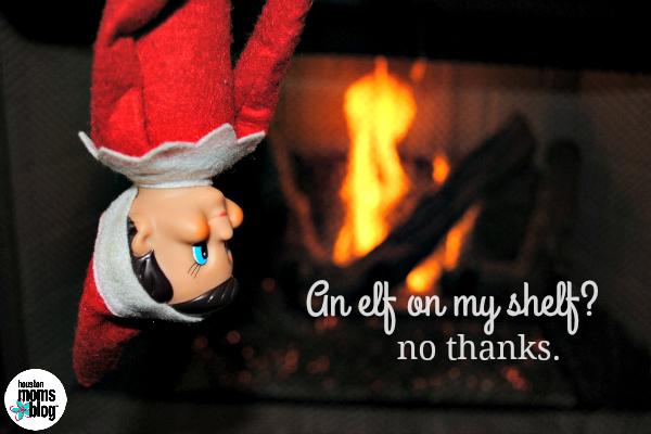 No Elf on the Shelf
