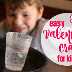 Easy Valentine Crafts for Kids - Featured
