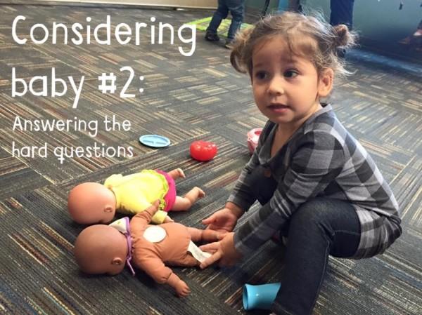 Considering Baby #2 | Houston Moms Blog