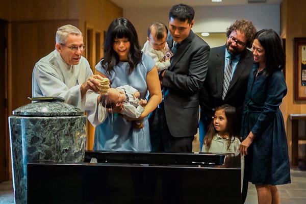 We We Celebrate {Ray's Baptism} | Houston Moms Blog