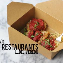 Houston's Best Restaurants Delivered
