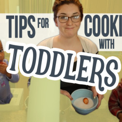 tips for cooking with toddlers