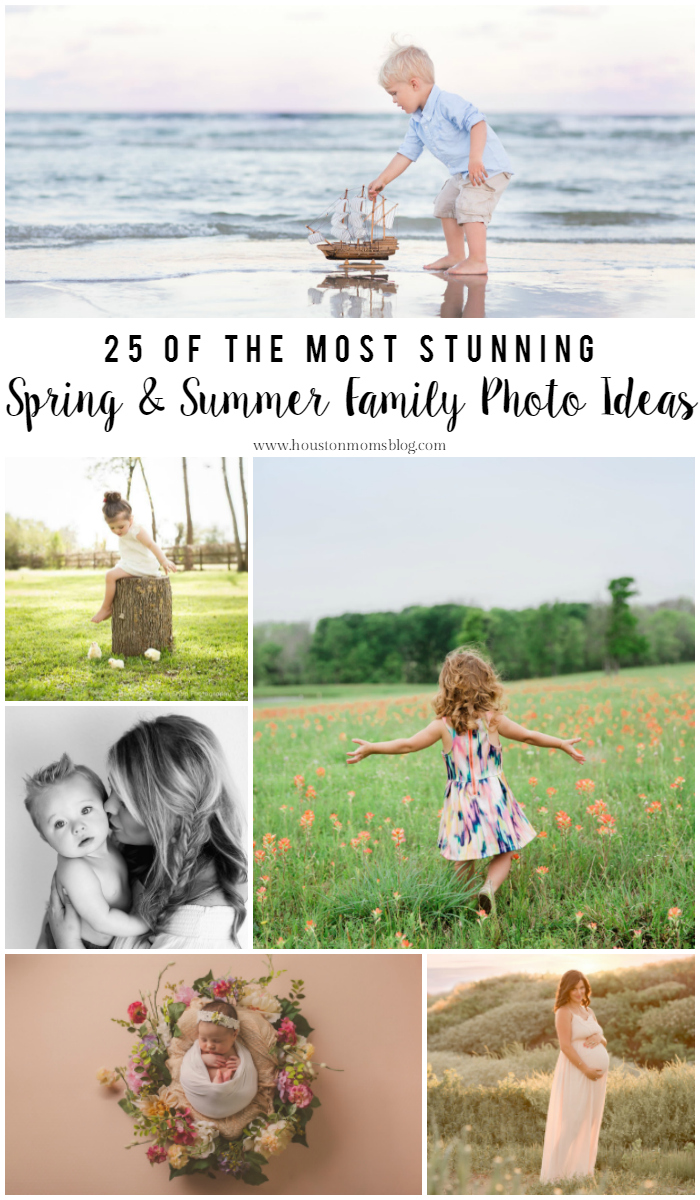 Spring summer family photo ideas houston moms blog