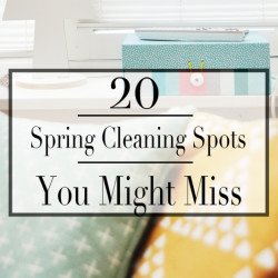 Spring Cleaning - Featured
