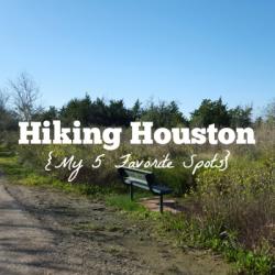 Hiking Houston - Featured