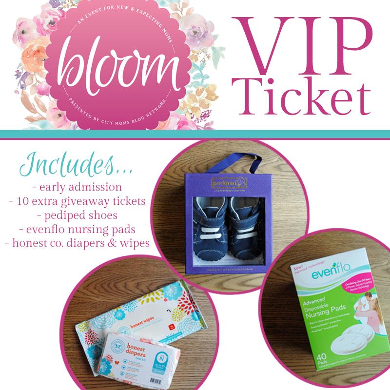 Houston Moms Blog Bloom - VIP