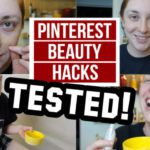5 DIY Pinterest Beauty Hacks Tested! {VIDEO}