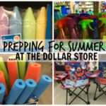 Prepping for Summer … At the Dollar Store