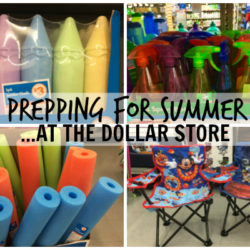 Prepping for Summer ... At the Dollar Store | Houston Moms Blog