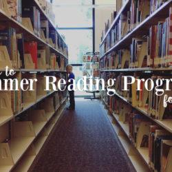 Guide to Summer Reading Programs for Kids | Houston Moms Blog