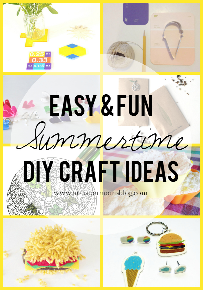11 Easy & Fun Summertime DIY Craft Ideas   Houston Moms Blog