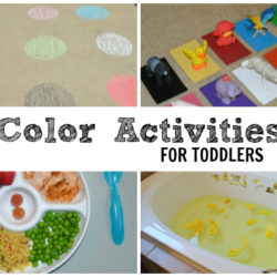 Toddler Color Activities - Featured