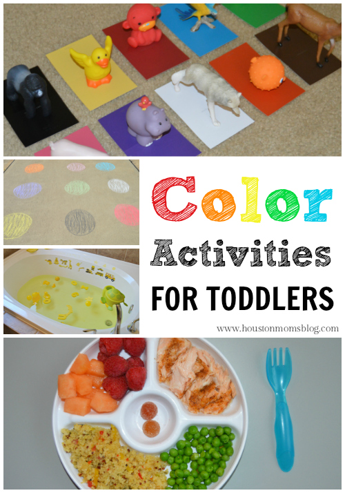 4 Fun Color Activities For Toddlers Houston Moms Blog