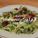 Easy Summer Salad Recipes