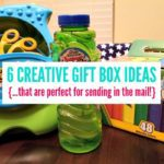 6 Creative Gift Box Ideas {…that are perfect for sending in the mail!}