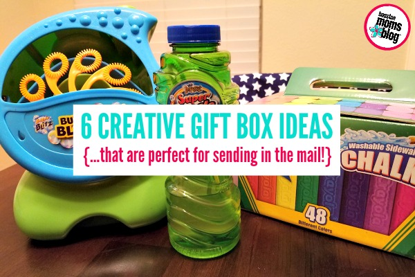 6 Creative Gift Box Ideas {...that are perfect for sending in the mail!} | Houston Moms Blog
