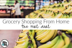 Grocery Shopping From Home :: The Real Deal | Houston Moms Blog