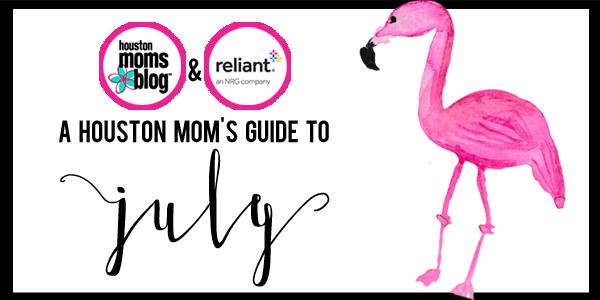 Houston Mom's Guide to July - Slider