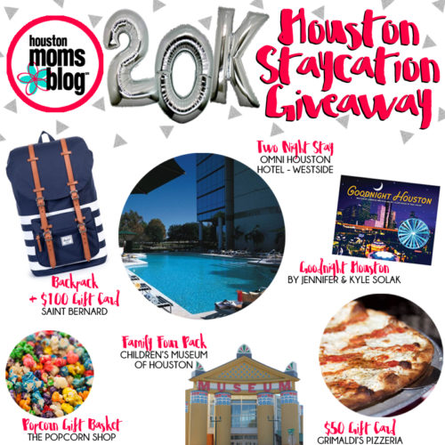 Celebrating 20,000 Likes :: Houston Staycation Giveaway | Houston Moms Blog
