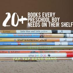 20+ Books for Preschool Boys   Houston Moms Blog