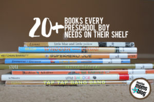 20+ Books for Preschool Boys | Houston Moms Blog