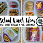 School Lunch Ideas {That Don't Involve a PB&J Sandwich}