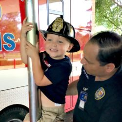 Houston Fire Station Visit | Houston Moms Blog