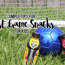 Simple Tips for Post-Game Snacks for Kids | Houston Moms Blog