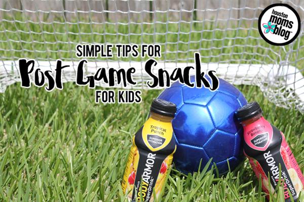 Simple Tips for Post-Game Snacks for Kids   Houston Moms Blog