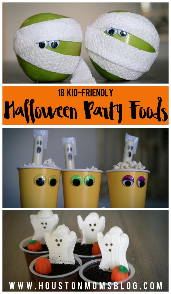 18 Kid-Friendly Halloween Party Foods | Houston Moms Blog