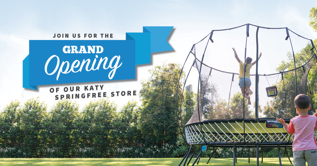 You're Invited... Springfree Trampoline's Grand Opening! | Houston Moms Blog