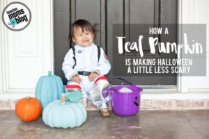 How a Teal Pumpkin is Making Halloween Less Scary | Houston Moms Blog