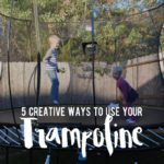 5 Creative Ways to Use Your Trampoline