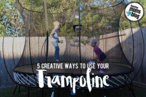 5 Creative Trampoline Uses | Houston Moms Blog
